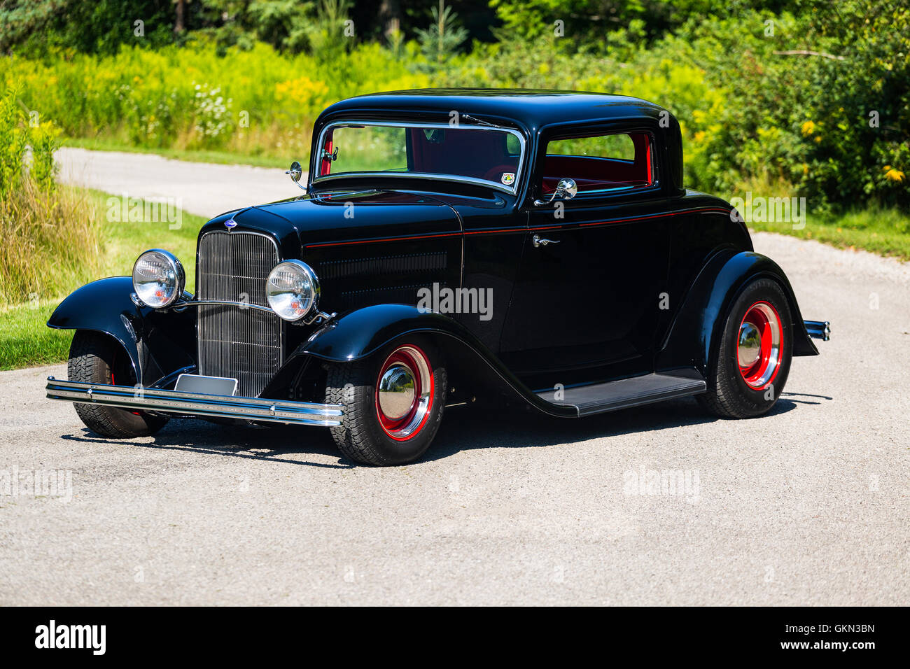 Coupe Ford 1932 Ford 3 Window Coupe Hot Rod Stock Photo 115404345 Alamy