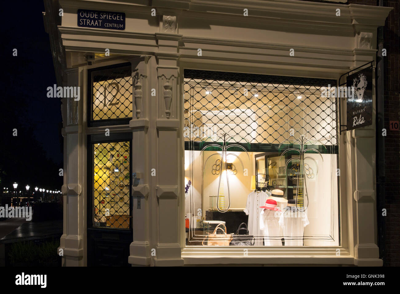 Spiegel Amsterdam Designer Fashion Hat Shop Maison Rika At Oude Spiegel Straat And