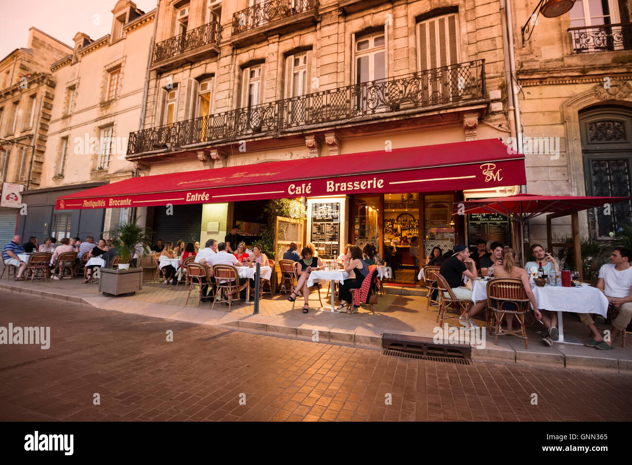 Restaurant Raclette Bordeaux France Restaurant Menu Stock Photos France Restaurant Menu Stock
