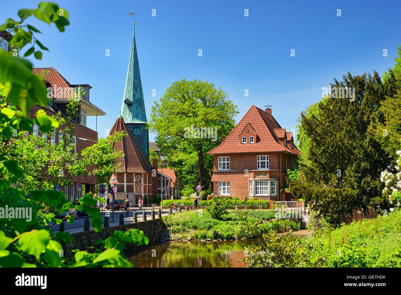 Badewannendoktor Hamburg Bergedorf Church In Bergedorf Hamburg Germany Stock Photo 117566671 Alamy