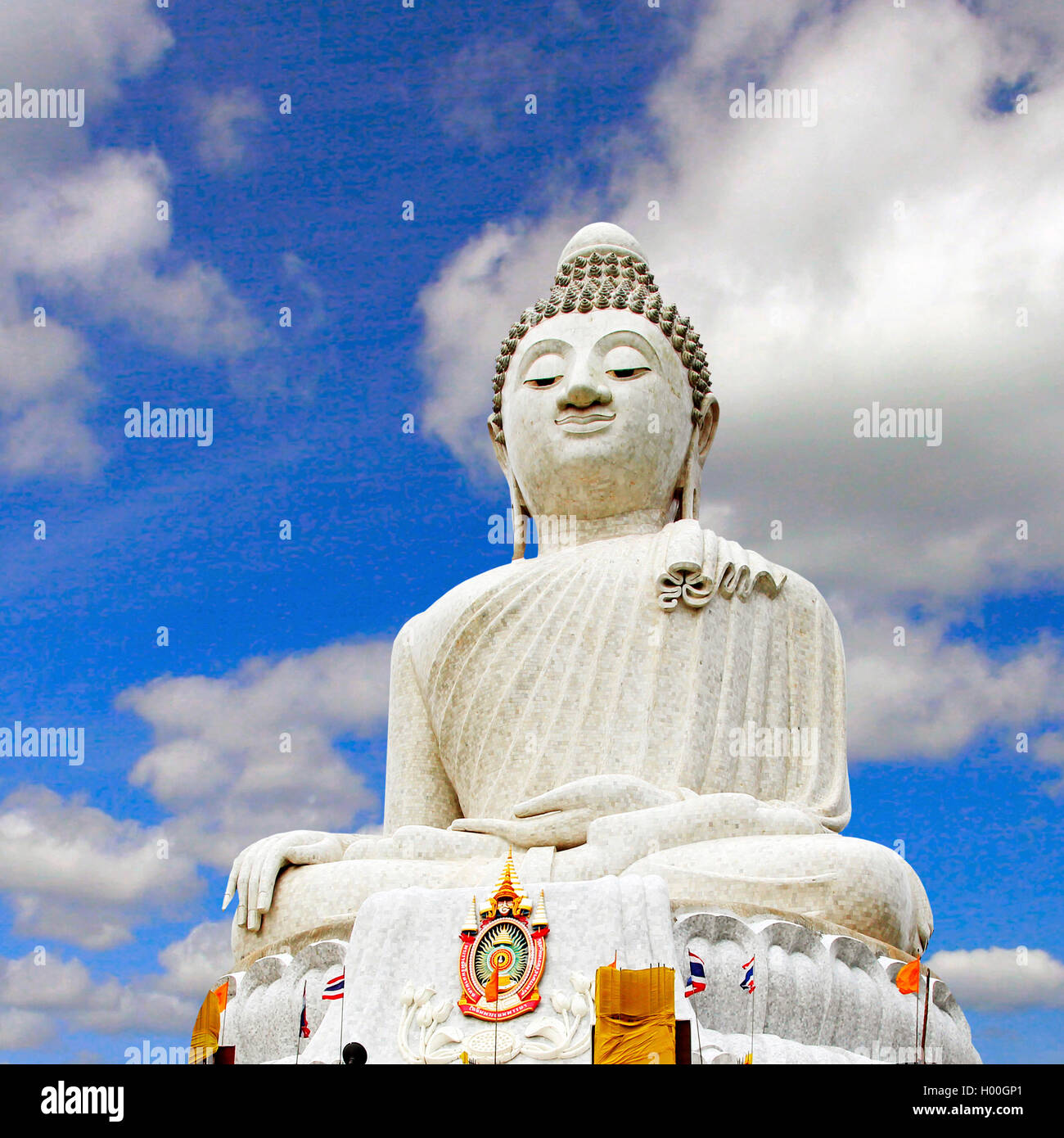 Weißer Buddha Big C Thailand Stock Photos And Big C Thailand Stock Images