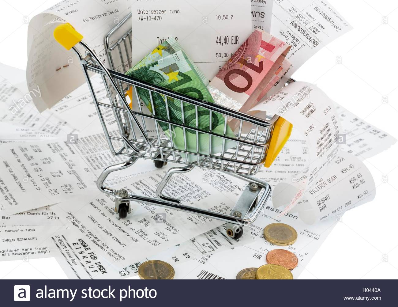 Schmand Netto Quittungen Stock Photos Quittungen Stock Images Alamy