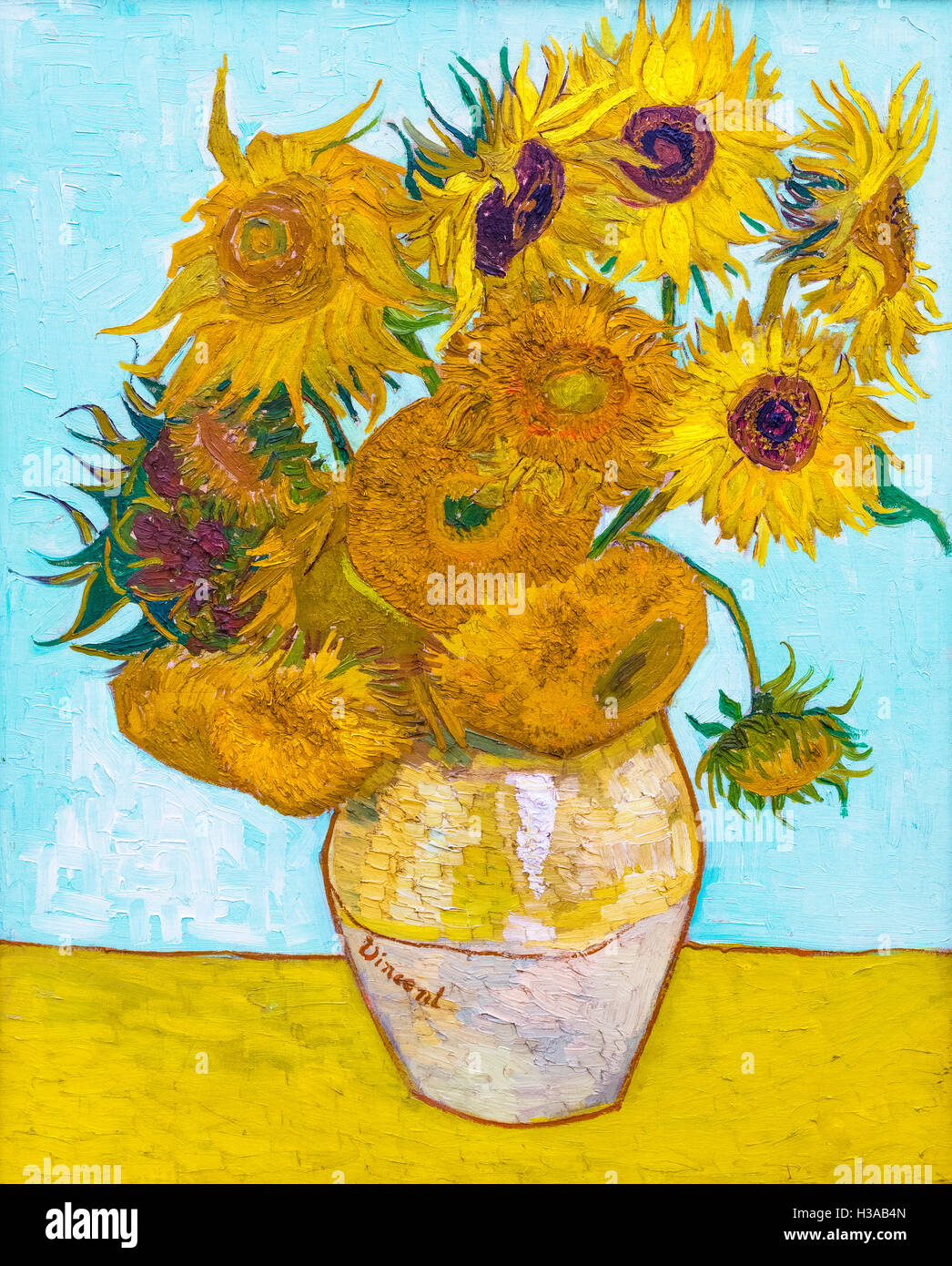 Vincent Van Gogh Paintings Sunflowers Sunflowers By Vincent Van Gogh 1853 1890 Oil On Canvas