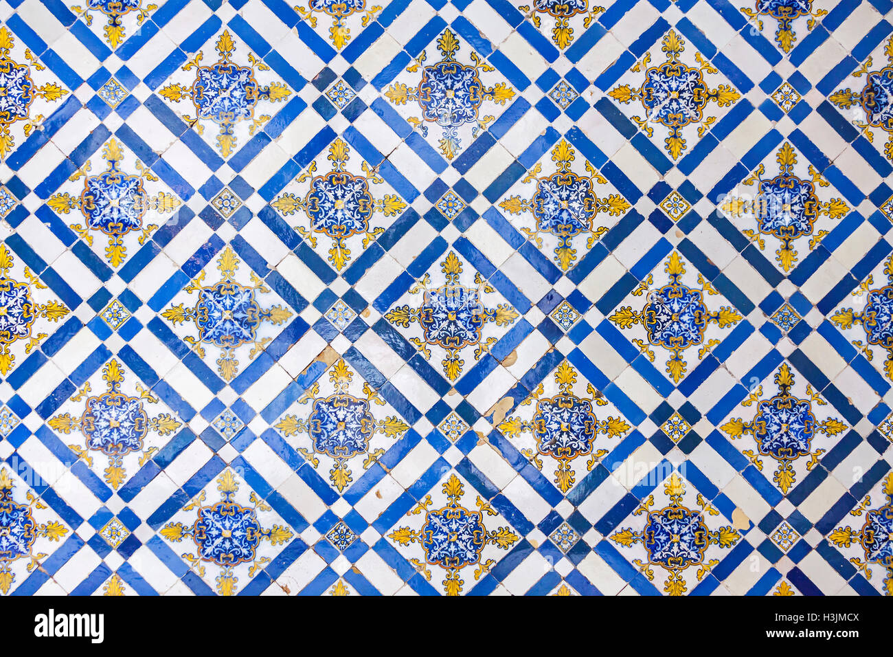 Azulejos Exterior Typical Portuguese Old Ceramic Wall Tiles Azulejos On