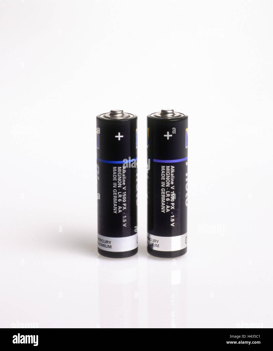 Aa Batterien Batteries Two Aa Alkaline Batterien Symbol Energy Stream