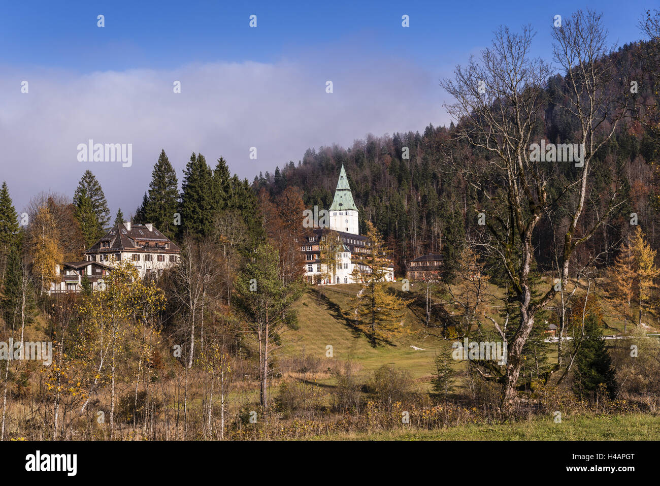 Schlosshotel Elmau G8 Summit In 2015 Stock Photos & G8 Summit In 2015 Stock