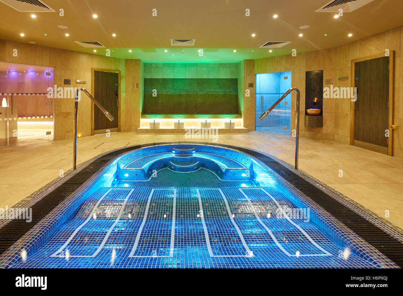 Jacuzzi Pool Deluxe Spa Pool Interior Modern Posh Clean Inside Spa Nelson Sauna Space