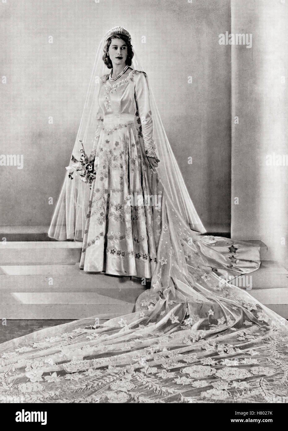 Queen Elizabeth Hochzeit Princess Elizabeth Future Queen Elizabeth Ii Born 1926 Seen