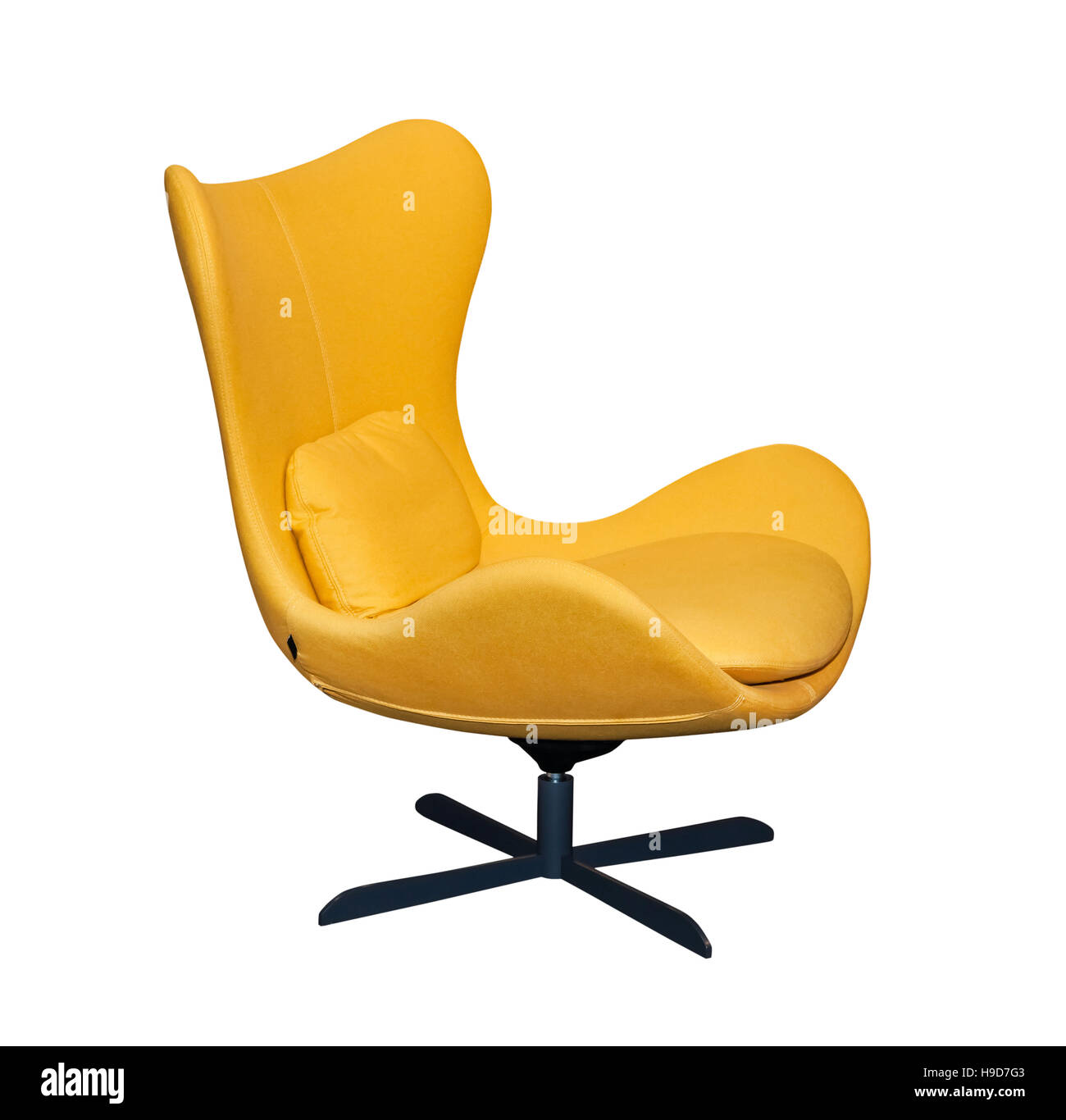 Spinning Chair Spinning Yellow Office Chair Stock Photo 126295795 Alamy