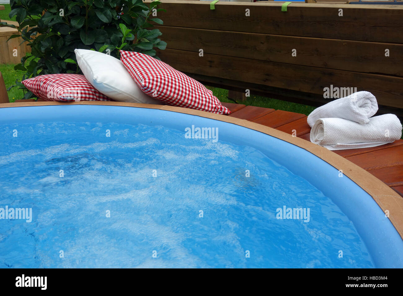 Jacuzzi Pool Pflege Whirlpool Wellness Stock Photo 127522084 Alamy
