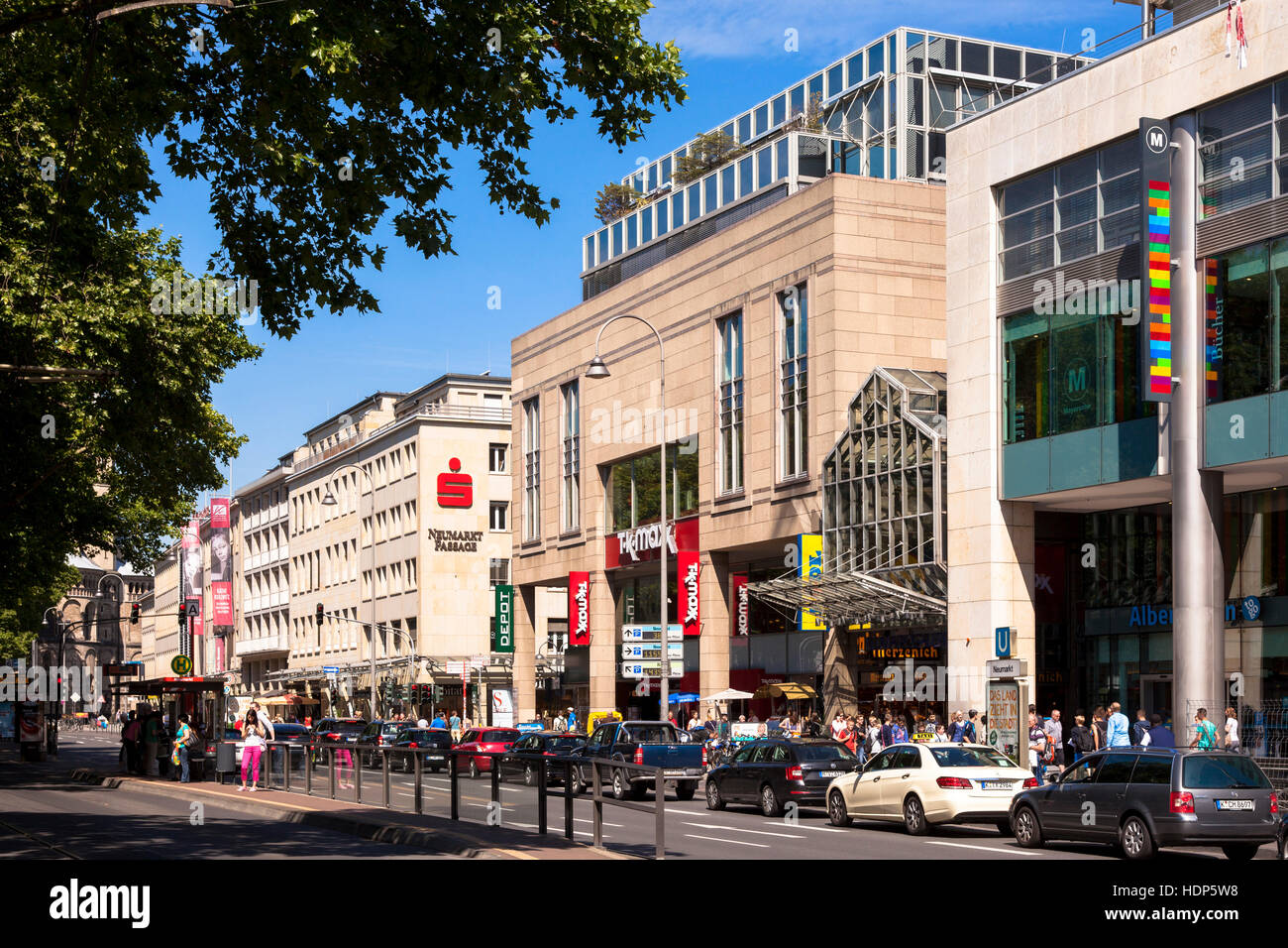 Oldenburg Shopping Center Neumarkt Cologne Germany Shopping Stock Photos And Neumarkt