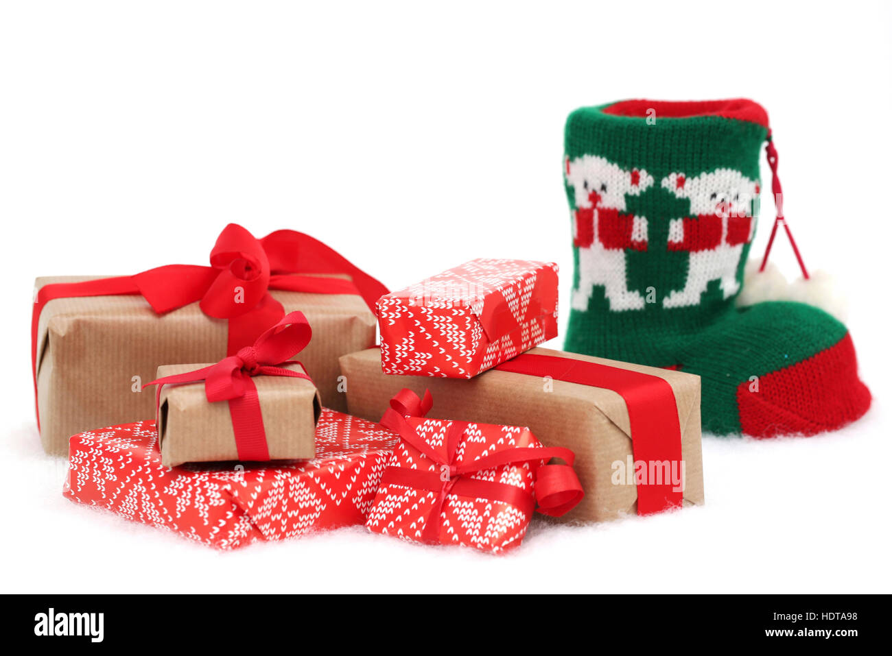 Christmas Presents Cut Out Stock Images Pictures Alamy