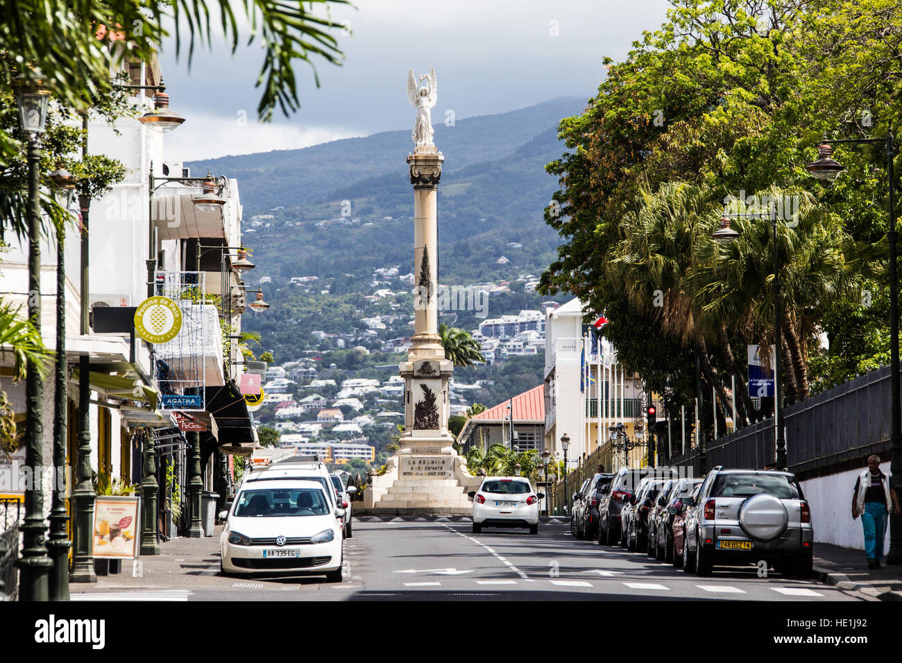 Reunion Island France Reunion Island St Denis City Stock Photos France Reunion