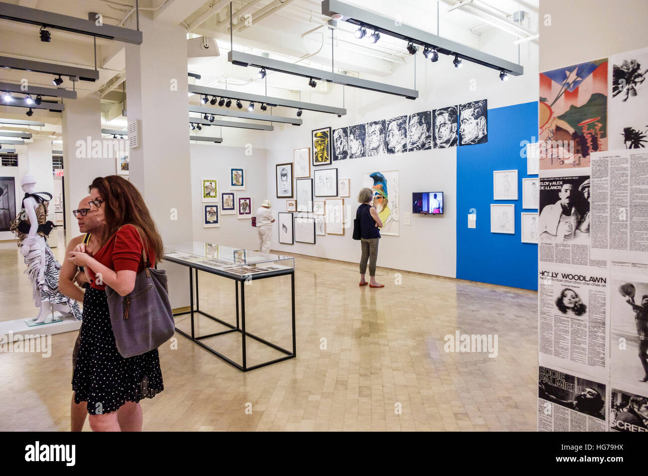 El Museo Del Barrio Art New York Harlem Barrio Stock Photos And New York Harlem