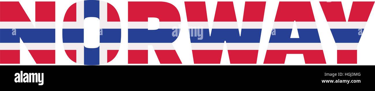 Norway flag word Stock Photo 130705136 - Alamy - word flag