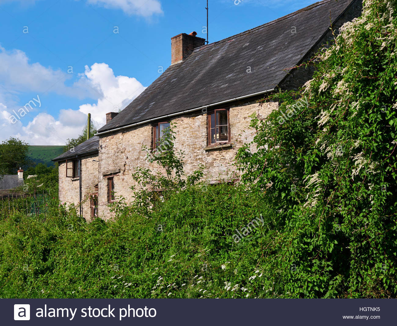 Farmhouse For Sale Wales Welsh Stone Cottage Stock Photos And Welsh Stone Cottage
