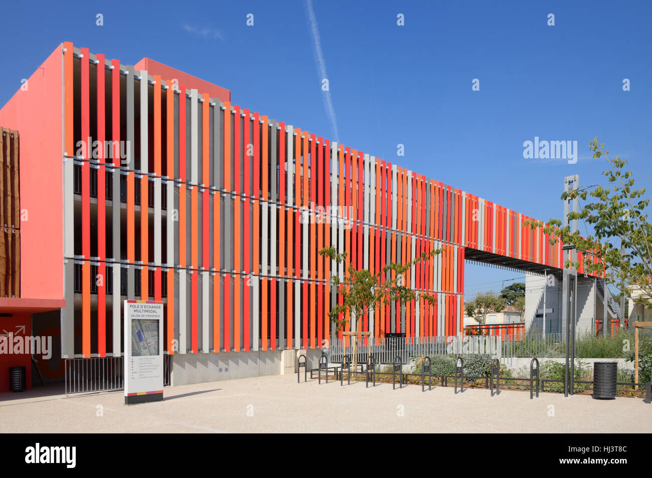 Bowling Salon De Provence Multi Story Carpark Stock Photos And Multi Story Carpark