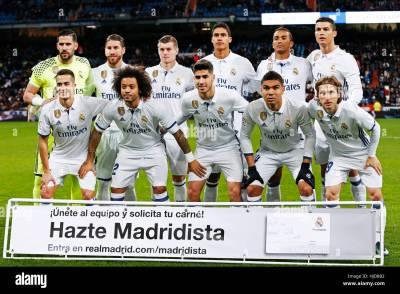Real Madrid Vs Leganes Copa Del Rey Lineup