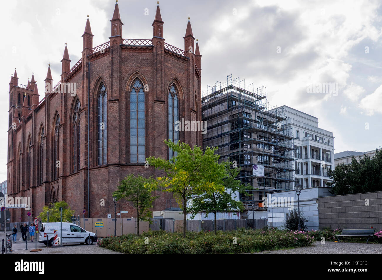 Berlin Gothic Berlin Mitte The Beautiful Neo Gothic Friedrichswerder Church Is