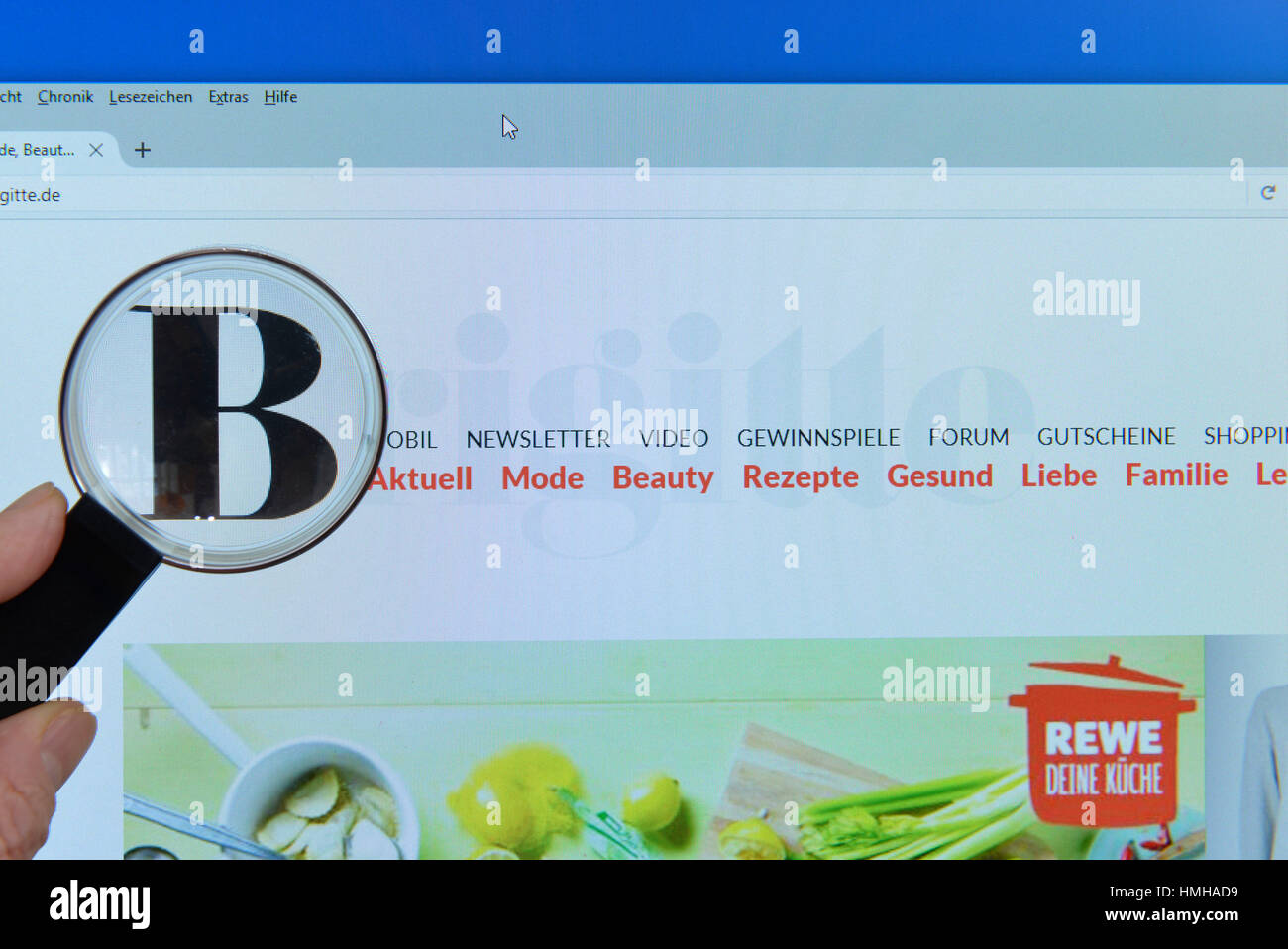 Brigitte Gewinnspiel Brigitta High Resolution Stock Photography And Images - Alamy