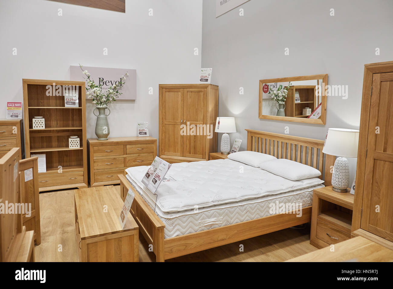 The Interior Of Macclesfield Oak Furniture Land A Privately Owned Stock Photo Alamy