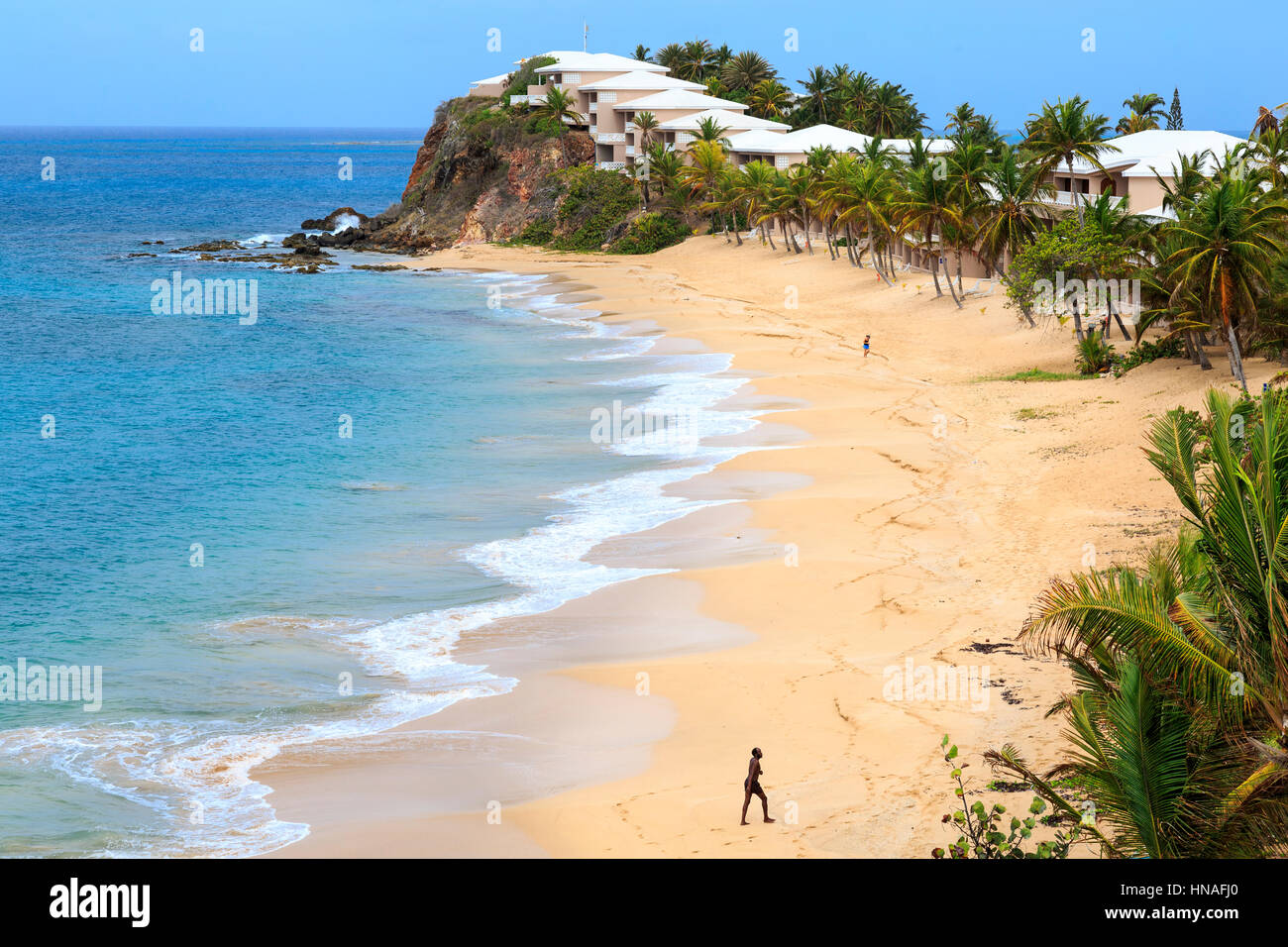 Antigua Curtain Bluff Curtain Bluff Beach Antigua Caribbean Stock Photo 133612136 Alamy