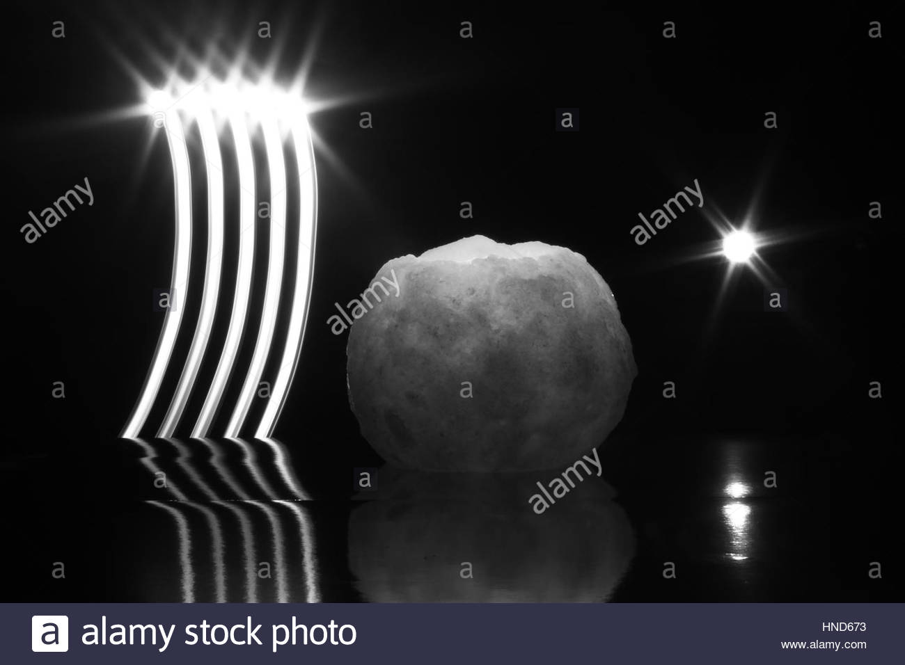Candle Light Painting Candle Star And Light Painting Stock Photo 133670631 Alamy