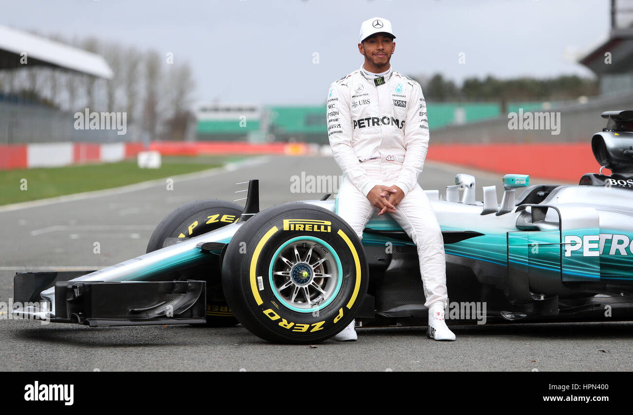 Now Tv F1 Pass Lewis Hamilton With The New Mercedes W08 Formula One