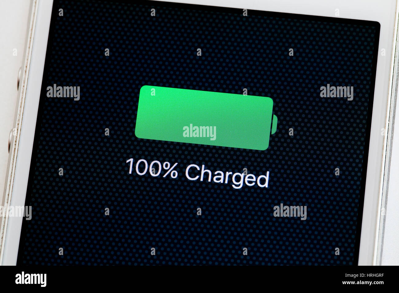 Battery Symbol Iphone Charged Phone Stock Photos And Charged Phone Stock Images