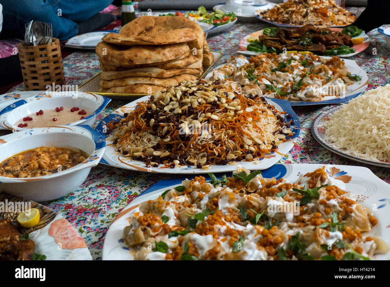 Afghanische Küche Bolani Traditional Afghan Food Stock Photo 135313728 Alamy