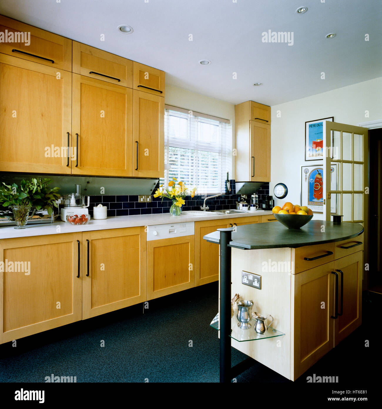 Kitchen Cupboard Uplighters Fitted Glass Stock Photos Fitted Glass Stock Images Alamy