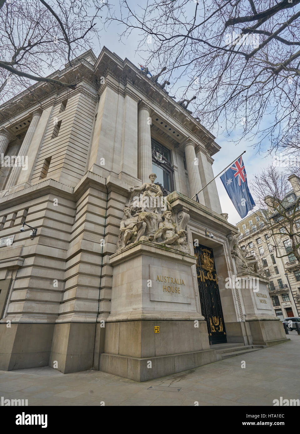 Australian Embassy Australian Embassy London Stock Photo 135445028 Alamy
