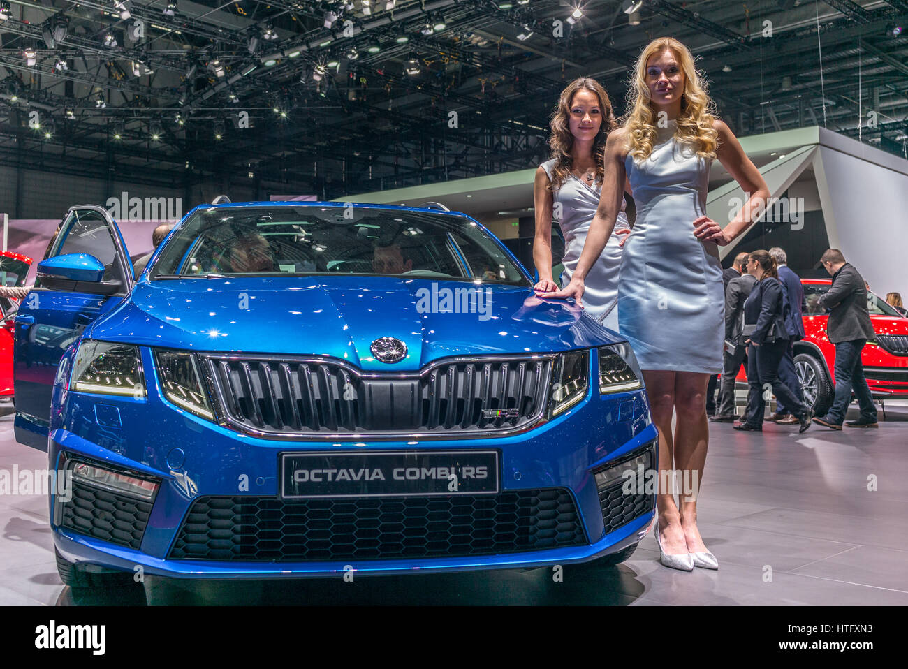 Garage Skoda Colmar Automobile Producer Stock Photos Automobile Producer Stock
