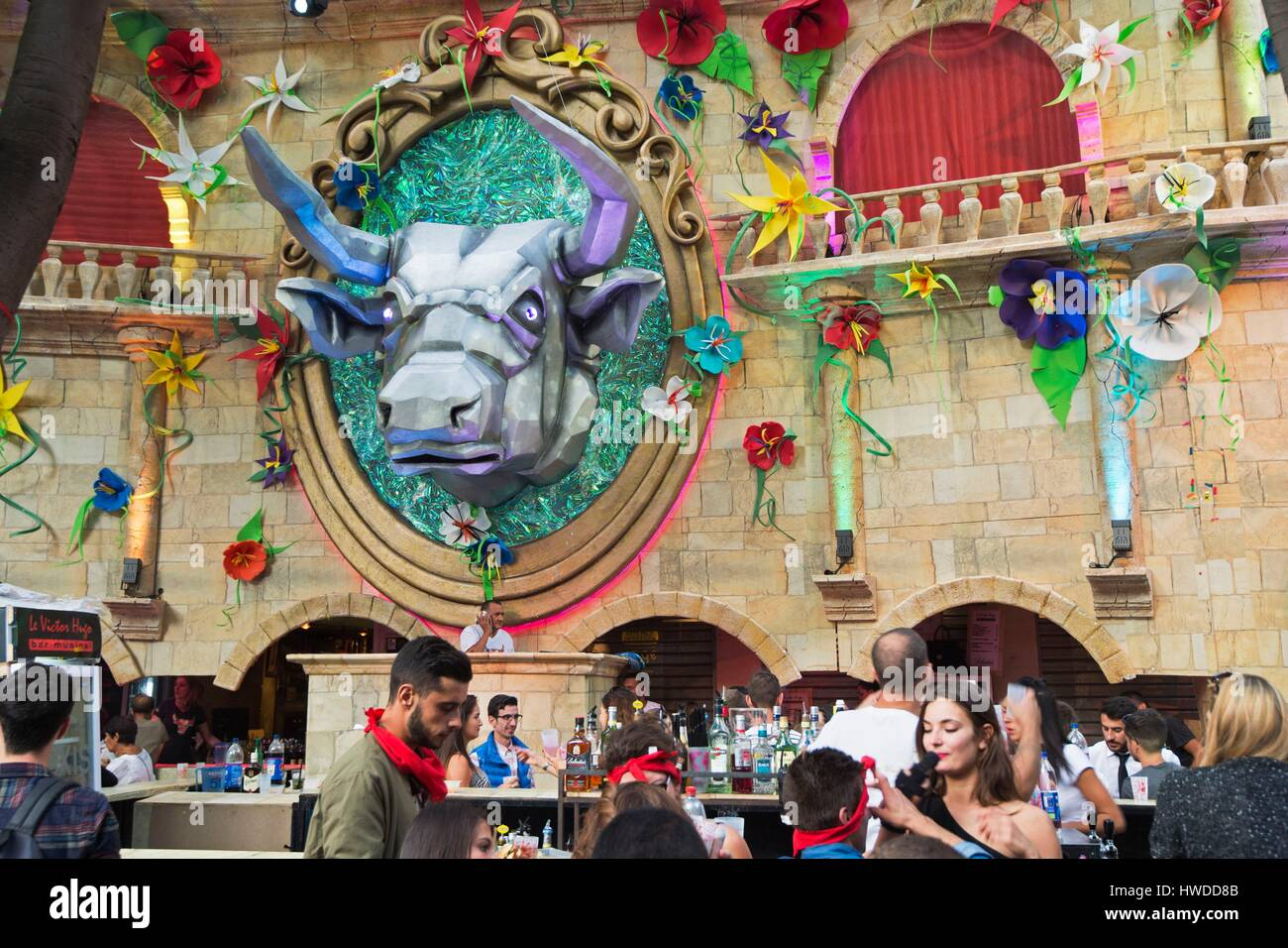 Decoration Nimes France Gard Nimes The Feria Des Vendanges Takes Place Every