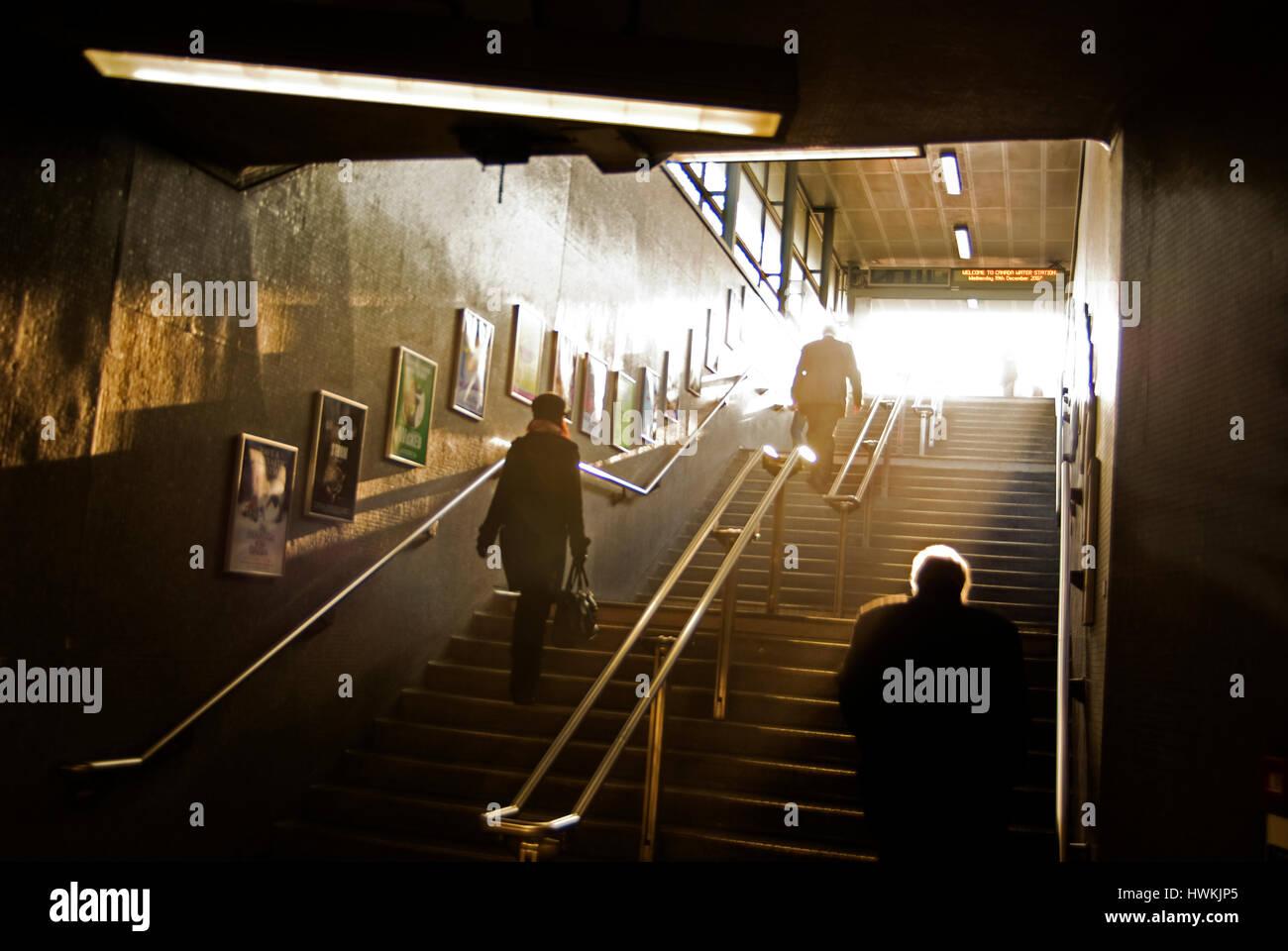 Canada Water Underground Station Jubilee Line Stock Photos