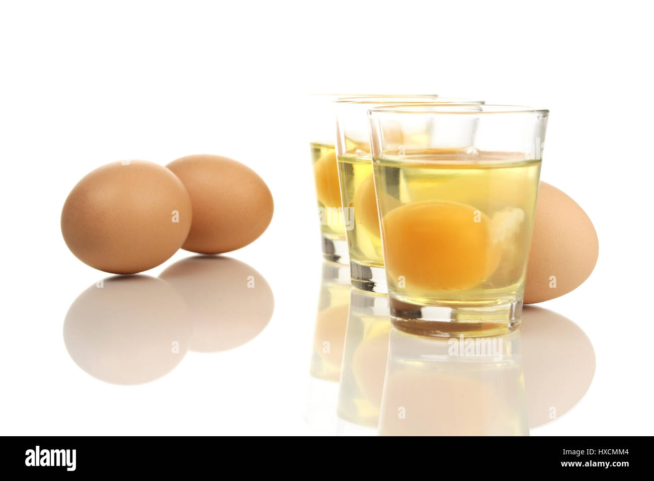 Ei Im Weckglas Egg In The Glas Cut Out Stock Images Pictures Alamy