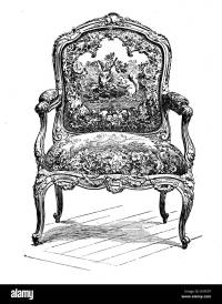 Antique Upholstered Chair Styles | Antique Furniture
