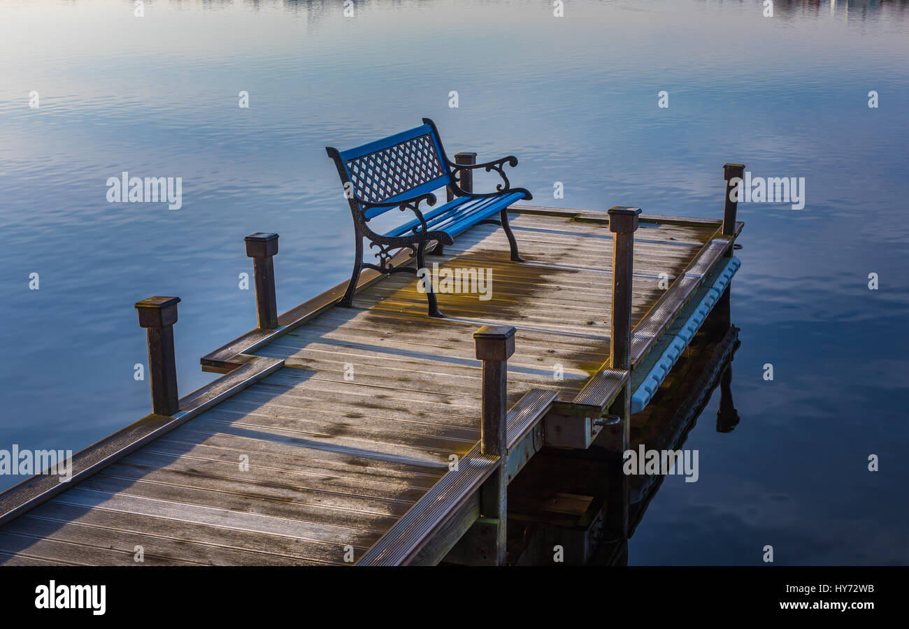 Hammock Chair Rona Bench On A Dock Stock Photos Bench On A Dock Stock Images