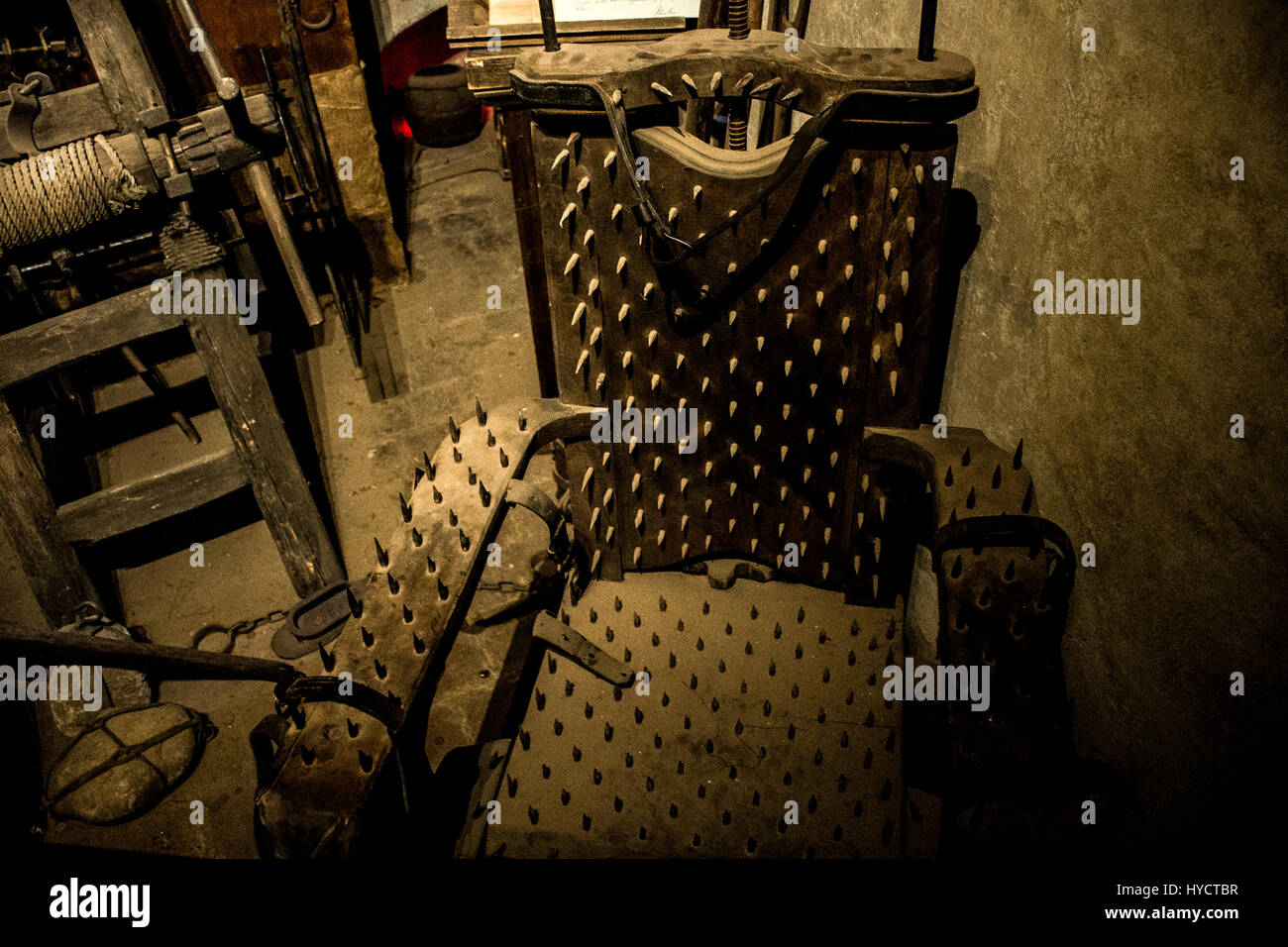 Chaise Medieval Medieval Torture Stock Photos And Medieval Torture Stock