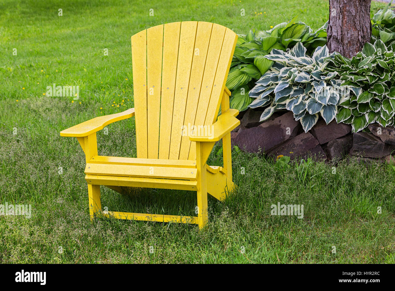 Outdoor Furniture Ringwood Wooden Chair In Park Stock Photos Wooden Chair In Park Stock