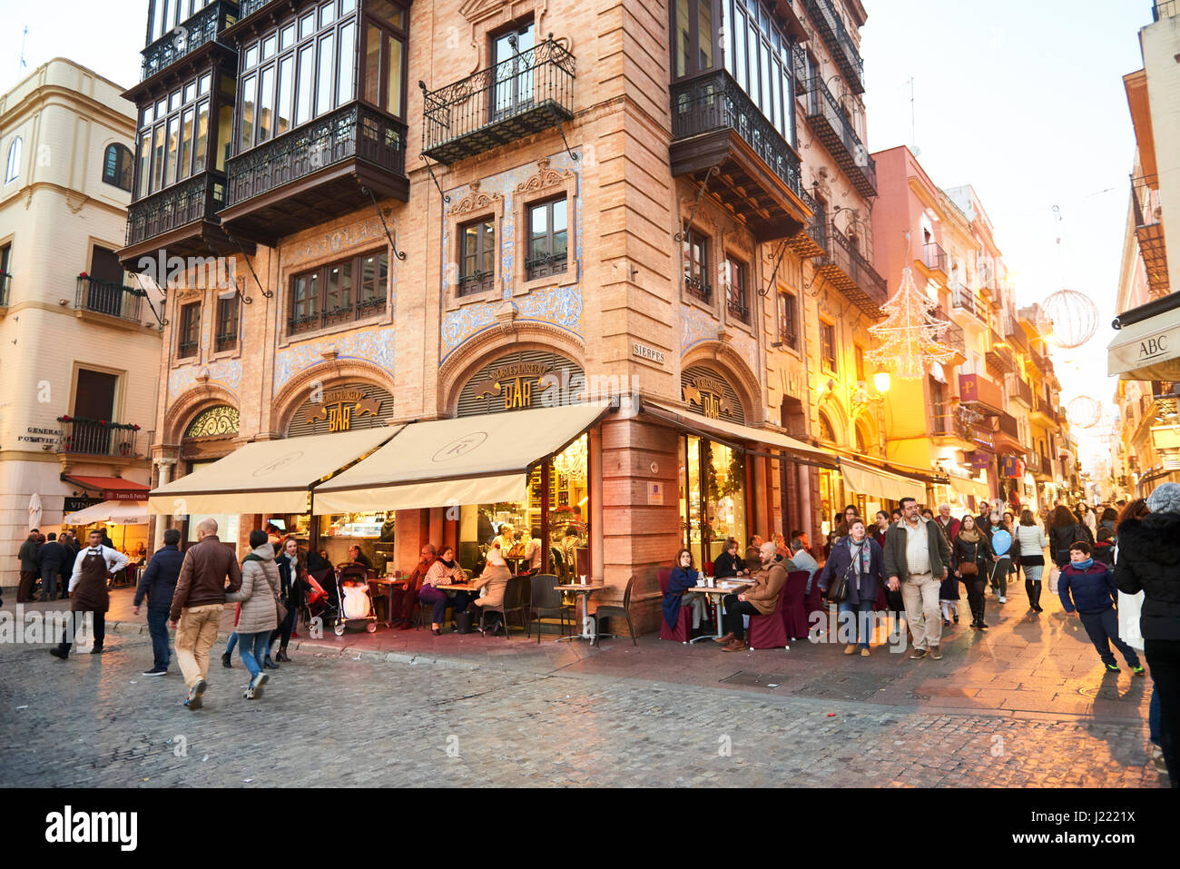 Sevilla Winkelen Sierpes Sevilla Stock Photos And Sierpes Sevilla Stock