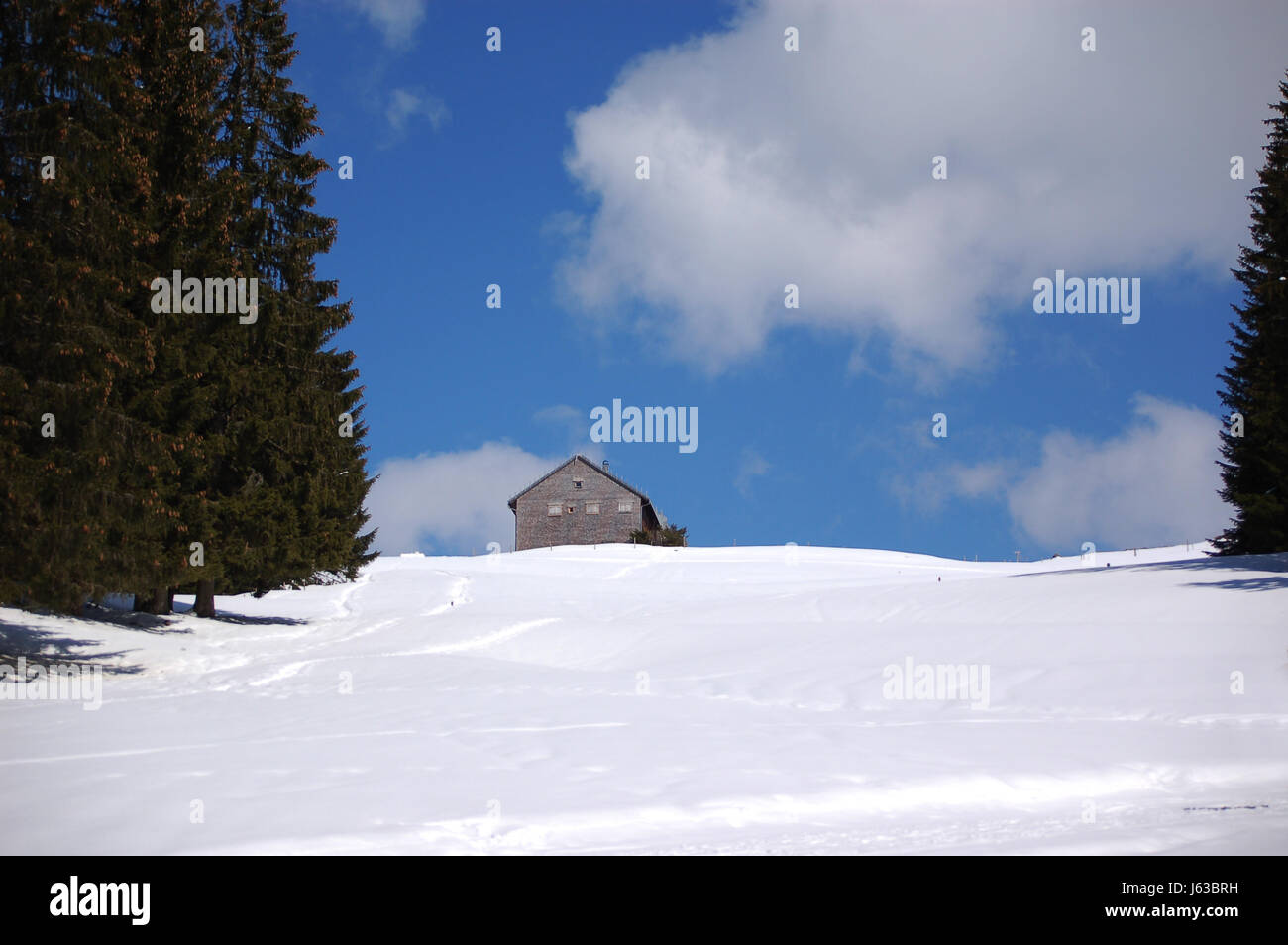 Haus Am Hang Haus Am Hang 7922 Stock Photo 141446021 Alamy