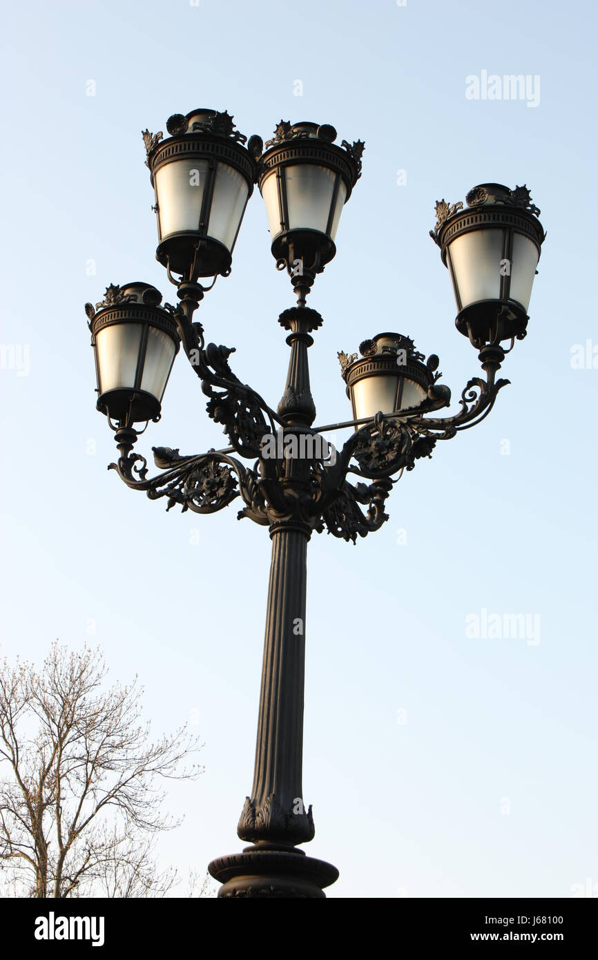 Lamppost Street Lighting Stock Photo Alamy