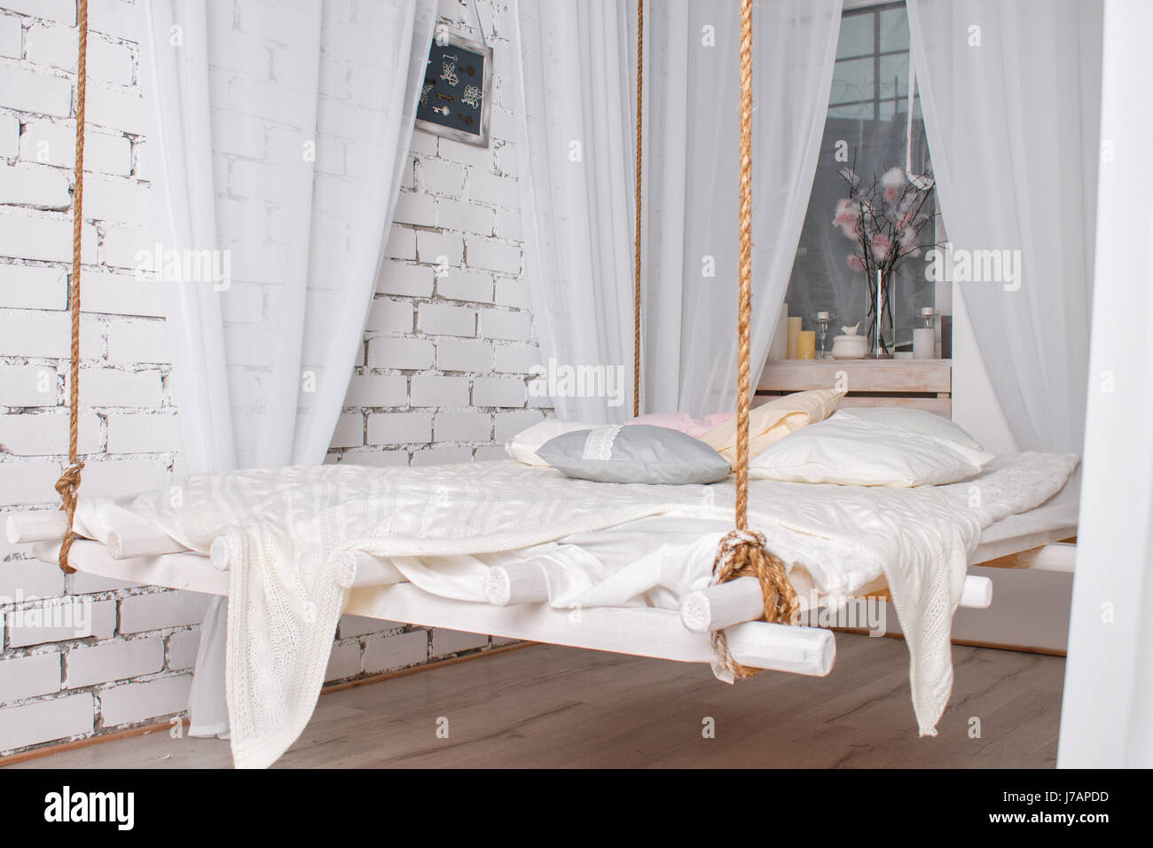 Bed Suspended From Ceiling Suspended Ceiling Stock Photos And Suspended Ceiling Stock