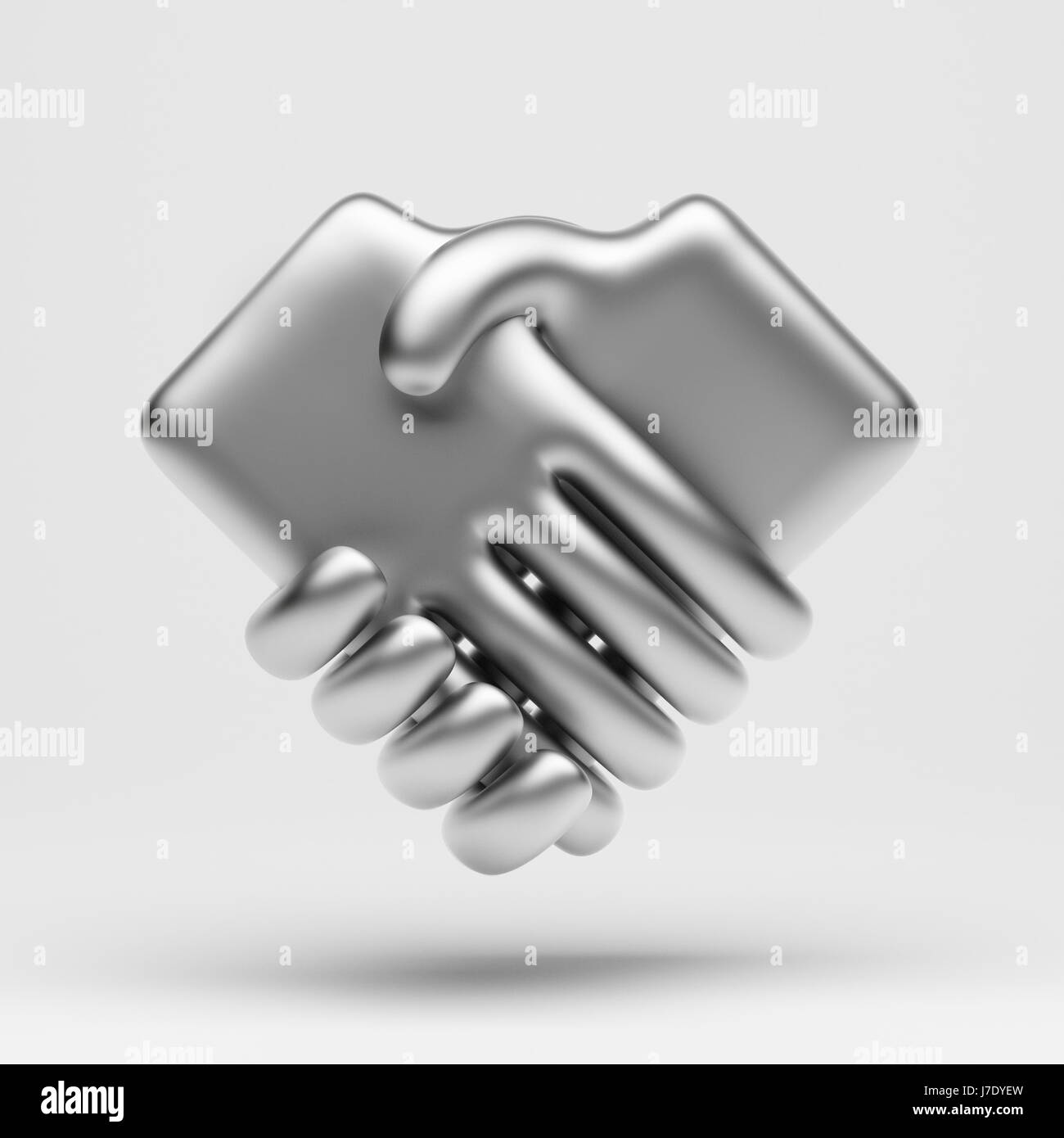 Email Icon Isolated On Special Yellow Square Button Abstract Handshake Icon Black And White Stock Photos And Images Alamy
