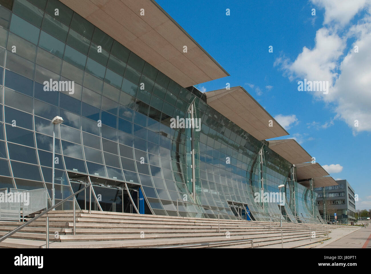 Expo Plaza Hannover Expo Plaza Hannover Expo 2000 Stock Photo 142618113 Alamy