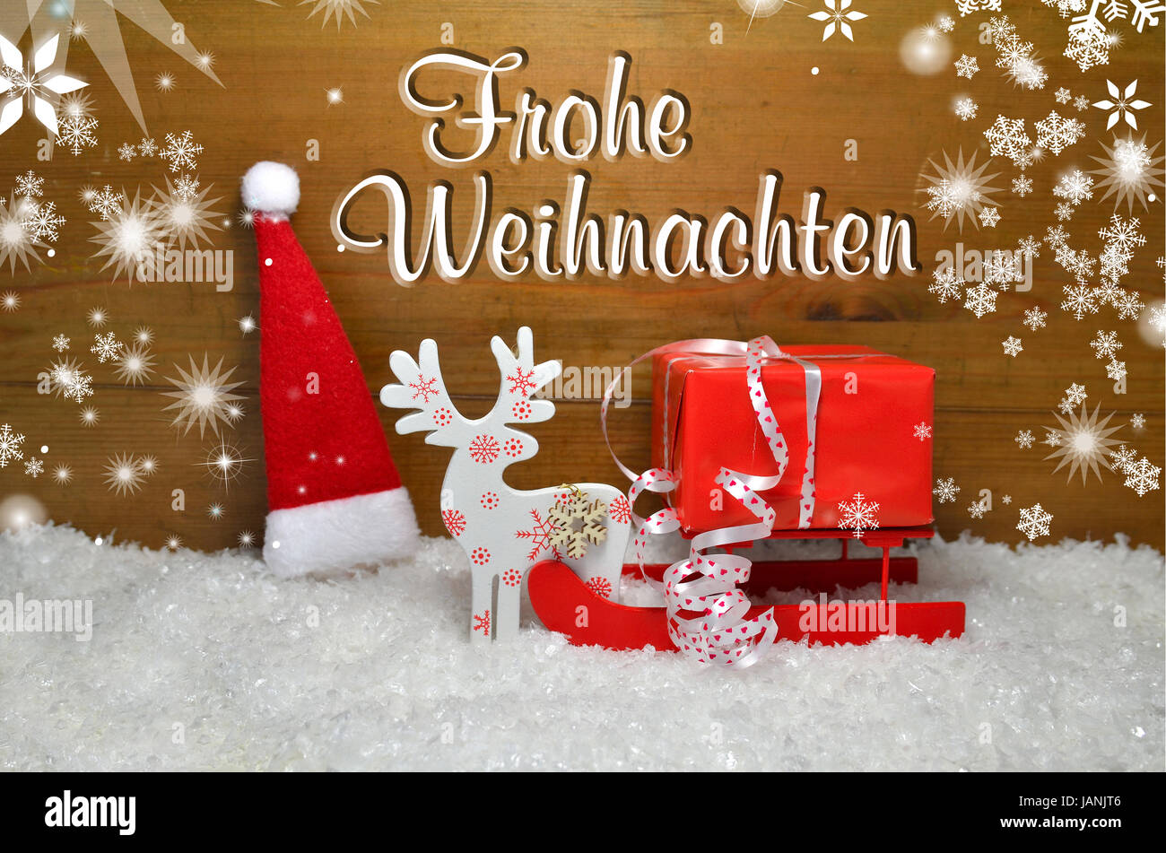 Frohe Weihnachten Frohe Weihnachten Dekoration Advent Stock Photo 144305286 Alamy