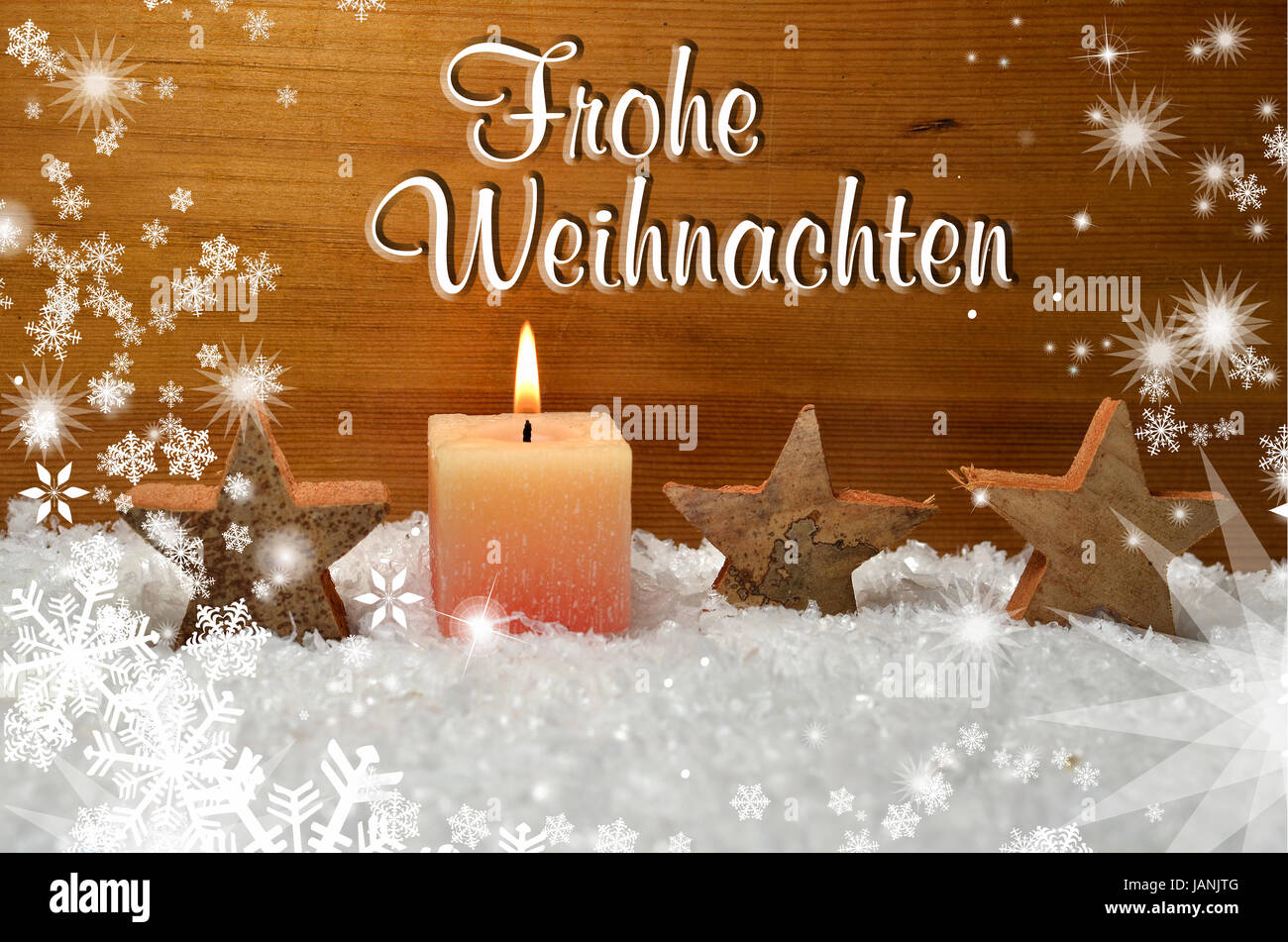 Frohe Weihnachten Frohe Weihnachten Dekoration Advent Stock Photo 144305296 Alamy