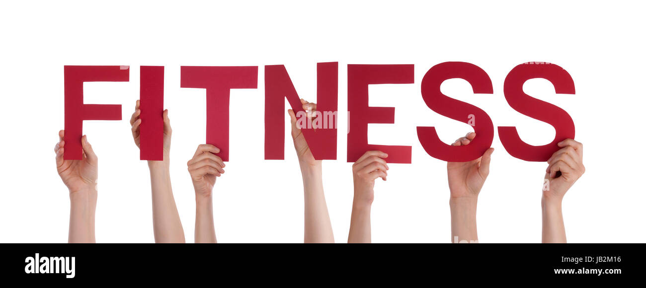 Word Fitness Stock Photos  Word Fitness Stock Images - Alamy