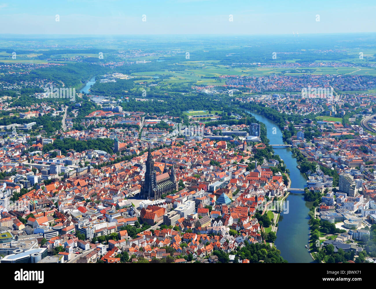 Ulm Deutschland Germany Donau Ulm Stock Photos Germany Donau Ulm Stock Images